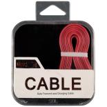 Cablu de date/incarcare microUSB + Adaptor PNY Lightning Apple, ROSU