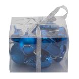 Set 10 figurine (mix accesorii pentru brad) Holly - albastru