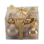 Set 10 figurine (mix accesorii pentru brad) Holly - auriu