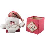 Cutie bomboane Mos Craciun Holly, 27 cm