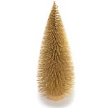 Bradut Holly decorativ 22cm auriu