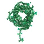 Beteala Holly inimioare cu reflexii 6cm x 2m, verde