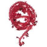 Beteala Holly stelute mari 6cm x 2m, rosu