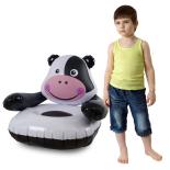 Fotoliu Gonflabil Funny Cow 63x73x67 cm