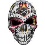 Masca Eventy Dia de los muertos Fire