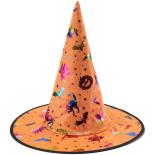Palarie Eventy vrajitoare Halloween, 37 cm