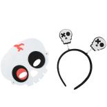 Set Eventy masca si bentita Halloween, Skull