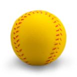 Minge antistres PU 6.5cm Baseball