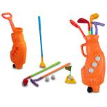 Set Golf Copii colorat KING SPORT - portocaliu