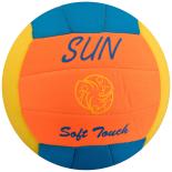 Minge Beach Volley Neopren, NO-SPLASH, no.5 Official Size, Sun portocalie