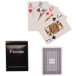 Set carti de joc Action Poker Club 8.7x6.2 cm, albastru