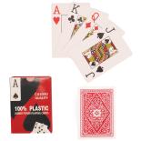 Set carti de joc Action Casino 8.7x6.2 cm, rosu