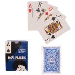 Set carti de joc Action Casino 8.7x6.2 cm, Albastru
