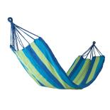 Hamac Basic 100% Bumbac ZELTEN 200 x 80 cm Albastru/Verde