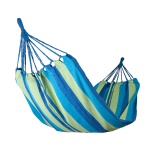 Hamac 100% Bumbac ZELTEN 200x100 Albastru-Verde