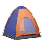 Cort Zelten 2-3 persoane, portocaliu-albastru