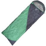 Sac De Dormit Eschimos (190+30)x75 cm, verde/gri