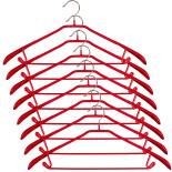 Set 8 umerase Gecko, metalice, universale,  44 x 3 x 21 cm, rosu