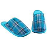 Set 3 perechi papuci de casa ZELTEN Unisex Bleu 44/45