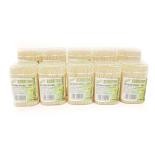 Set 10 cutii scobitori bambus Gemma 500 buc