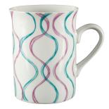 Cana ceramica amfora Gemma, 300 ml, 8x10 cm, verde violet