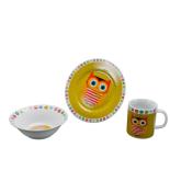 Set din ceramica pentru copii, Forest Friends - Bufnita
