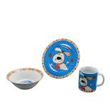 Set din ceramica pentru copii, Forest Friends - Catel