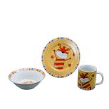 Set din ceramica pentru copii, Forest Friends - Tigru