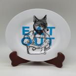 Farfurie Gemma intinsa 20 cm 7STX, Eat Out bleu