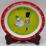 Farfurie Gemma, pentru copii, 21 cm, rosu, 10Stx