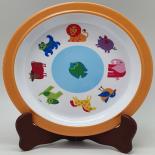 Farfurie Gemma, pentru copii, 21 cm, portocaliu, 16Stx