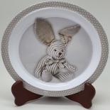 Farfurie Gemma, pentru copii, 21 cm, alb, 2Stx