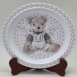 Farfurie Gemma, pentru copii, 21 cm, bej, 7Stx