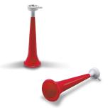 Vuvuzela 28 x 8.5 cm rosie