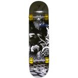 Skateboard Eagle Pro ABEC-7, PU, Aluminiu, 80 cm Castle