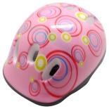 Casca protectie Action Kids, marime M, 58 cm, roz