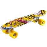 Penny Board Action® Xpload II ABEC-7, PU, Aluminium, Arlequin