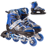 Role/Patine 35-38 WILDSTAR ABEC-7,  Aluminiu Blue