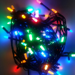 Instalatie 50 LED-uri mate, multicolore Holly, 5 m