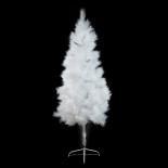 Brad de Craciun Holly, alb, 180cm wq0428-1