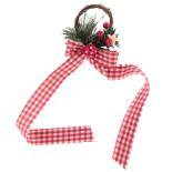 Inel festiv pentru sticle Holly, 12 cm