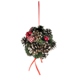 Sfera decorativa Holly, 15 cm
