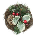 Cosulet decorativ Holly, 15 cm