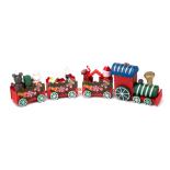 Trenulet Holly cu cadouri Craciun