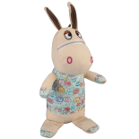 Decoratiune Mupsi Home Decoration, Donkey 38 x 12 cm, bej