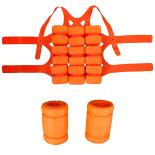 Costum ajutator inot, pentru copii, marimea S, portocaliu
