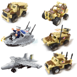 Set de constructie Military World 6 in 1