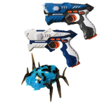 Set multiplayer LASER TAG cu 2 pistoale + Alien Bug, infrarosu