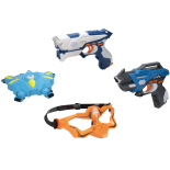 Set Infrared LASER TAG multiplayer cu masca si vesta