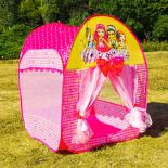 Cort pentru copii King Sport, Little Princess, roz, 75 x 75 x 91cm